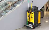 shopping centre cleaning equipment